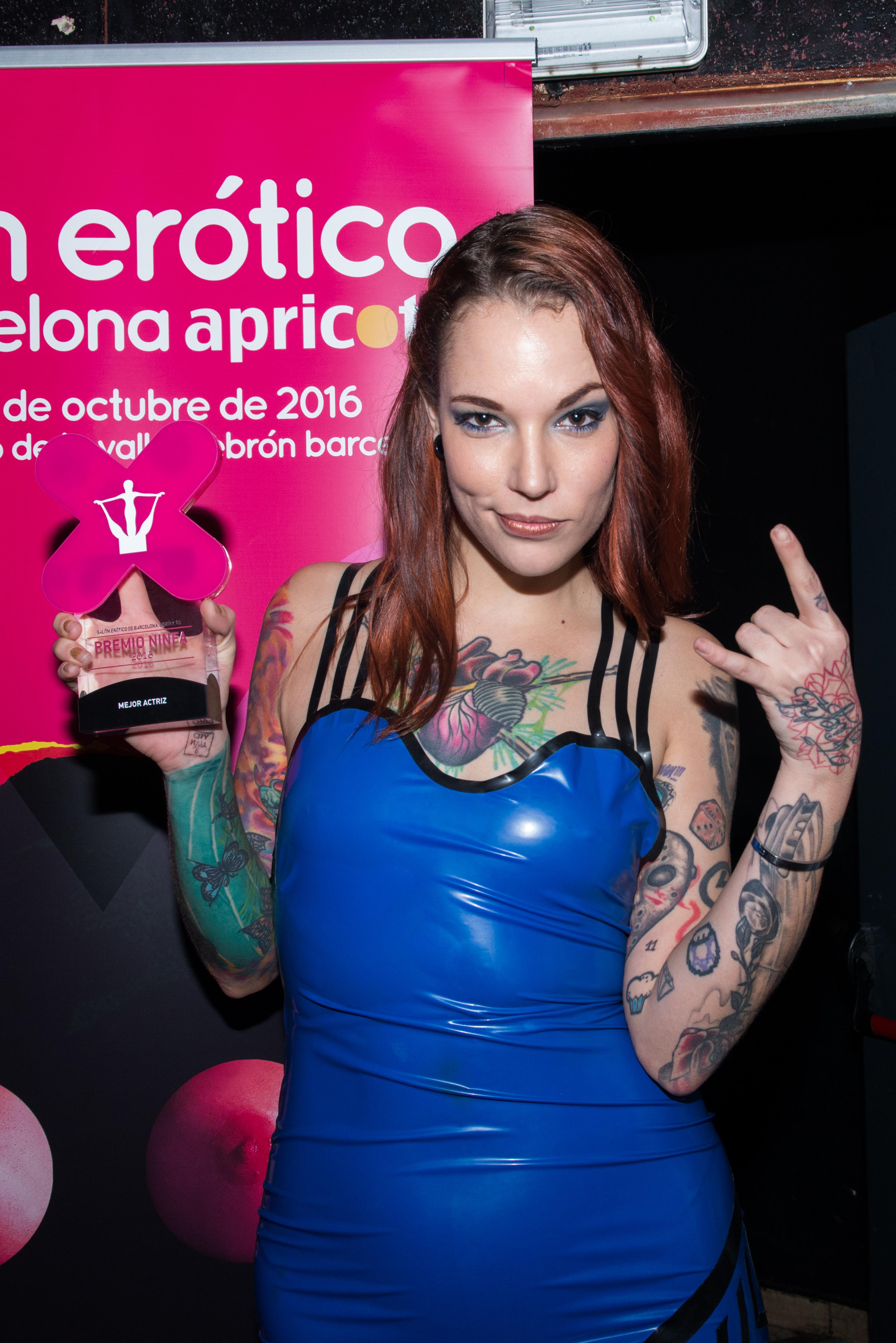 Actrices Salón Porno 2017 los premios ninfa 2016 consagran a sílvia rubí como mejor